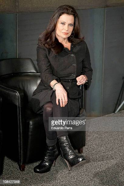 Actress Jane Badler attends 'V' second season photocall at AC Retiro hotel on January 27 2011 in Madrid Spain
