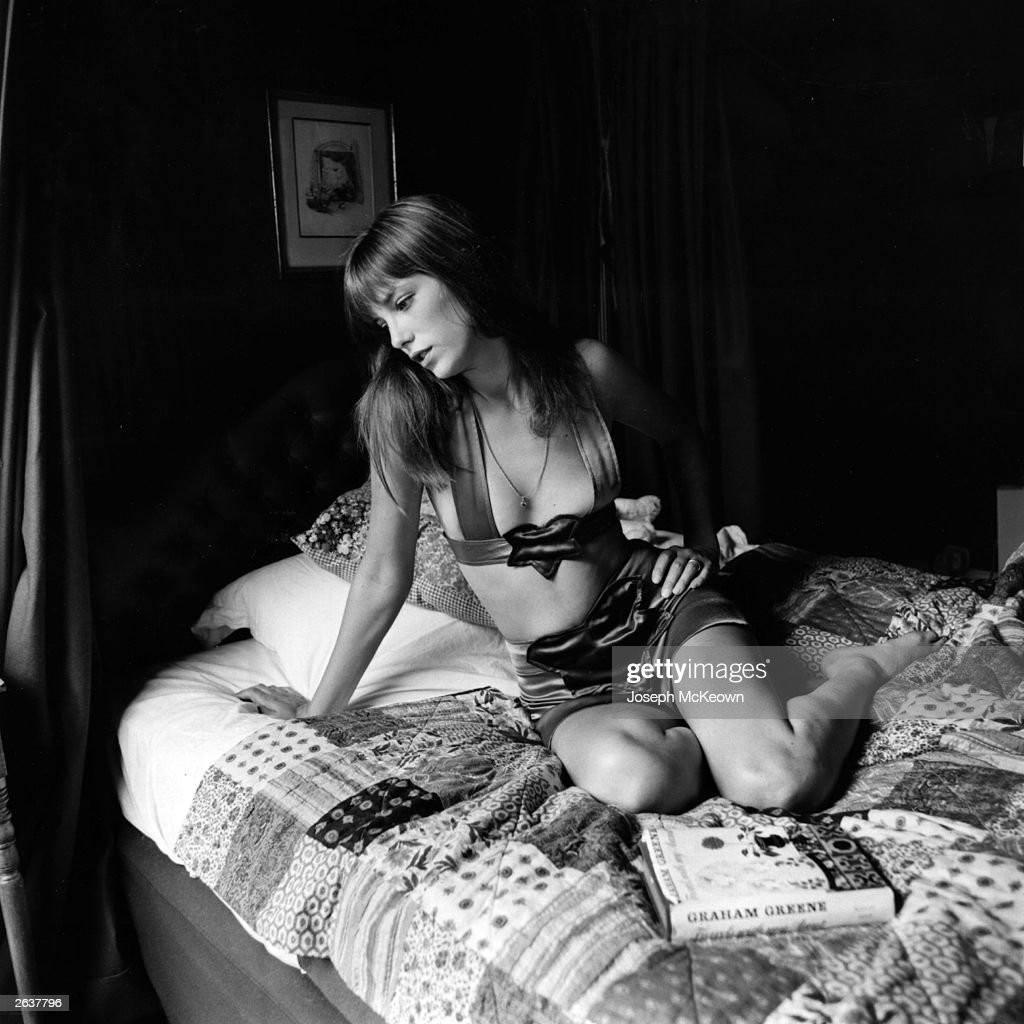 Actress Jane Birkin, who lived with Serge Gainsbourg in the Latin Quarter of Paris.