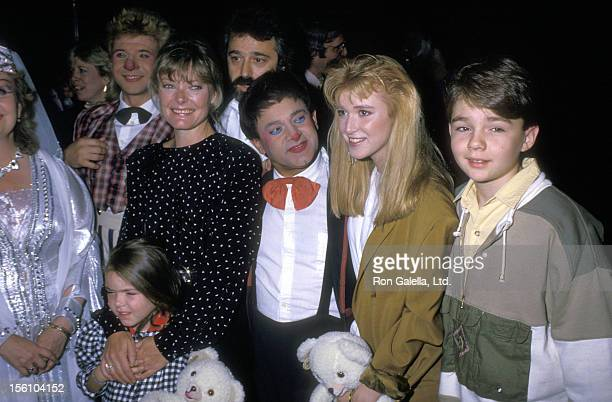 Actress Jane Curtin and daughter Tess Lynch and Actors Allison Smith and Frederick Koehler attend the 'Moscow Circus Opening Night Show' on September...