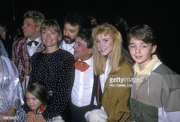 Actress Jane Curtin and daughter Tess Lynch and Actors Allison Smith and Frederick Koehler the 'Moscow Circus Opening Night Show' on September 15...