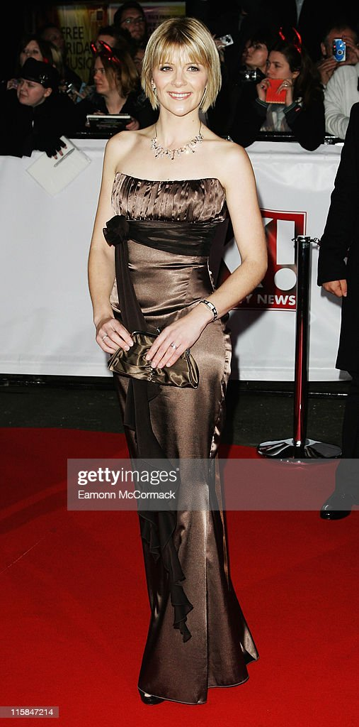 Actress Jane Danson arrives at the National Television Awards 2007 held at the Royal Albert Hall on October 31, 2007 in London, England.