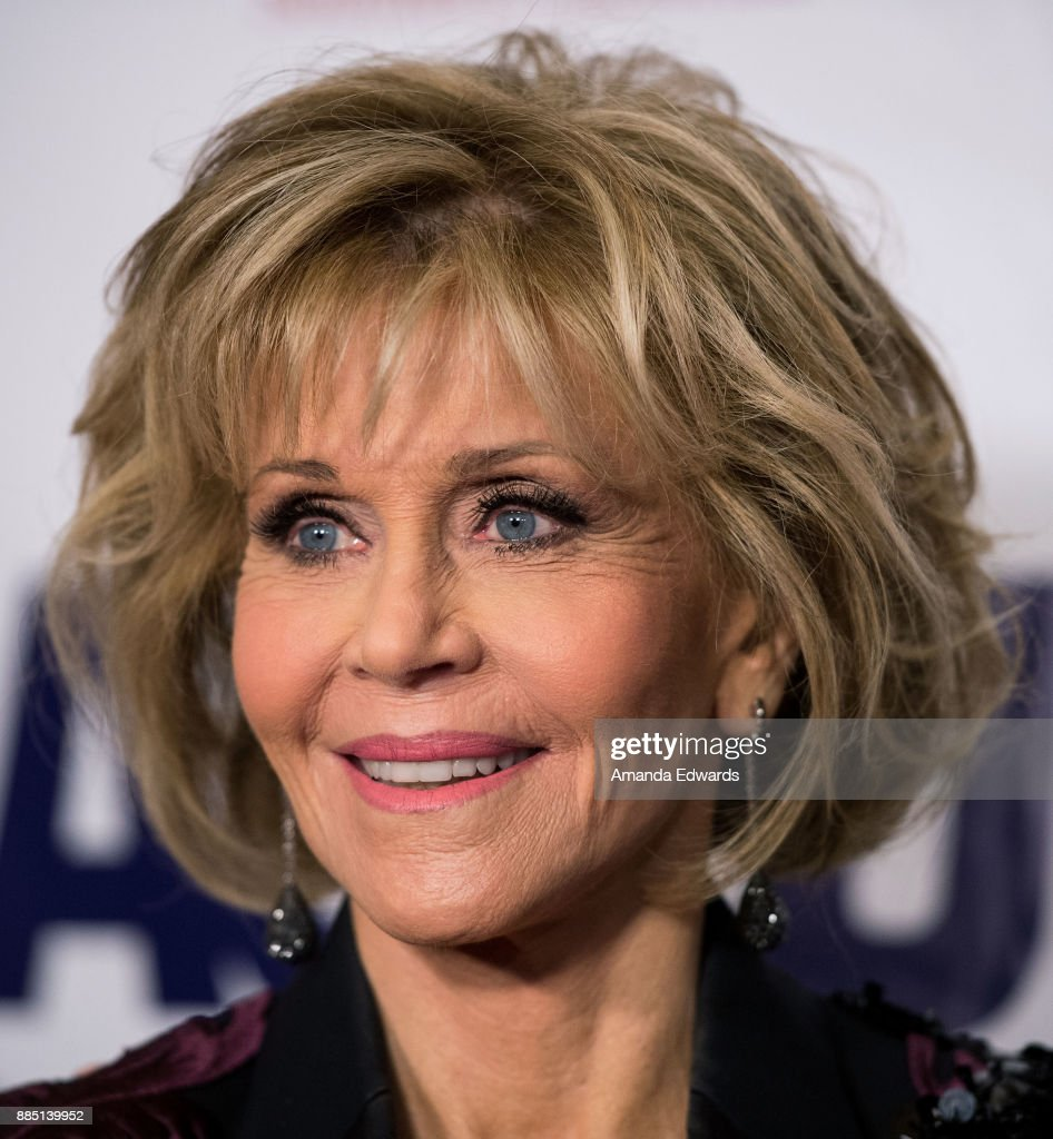 Actress Jane Fonda arrives at ACLU SoCal's Annual Bill of Rights Dinner at the Beverly Wilshire Four Seasons Hotel on December 3, 2017 in Beverly Hills, California.