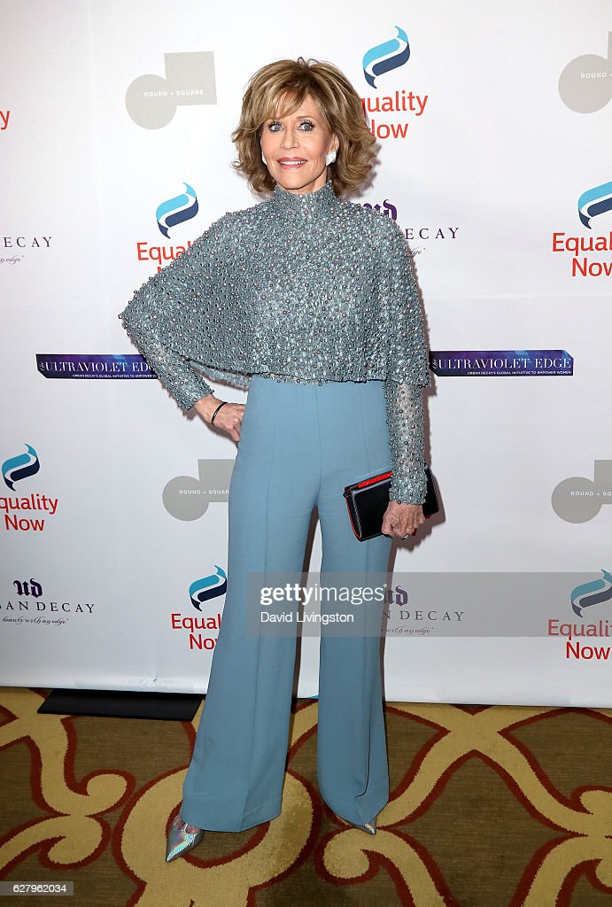 Actress Jane Fonda arrives at Equality Now's 3rd Annual 'Make Equality Reality' Gala at Montage Beverly Hills on December 5, 2016 in Beverly Hills, California.
