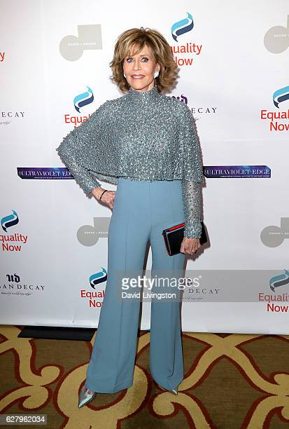 Actress Jane Fonda arrives at Equality Now's 3rd Annual Make Equality Reality Gala at Montage Beverly Hills on December 5 2016 in Beverly Hills...