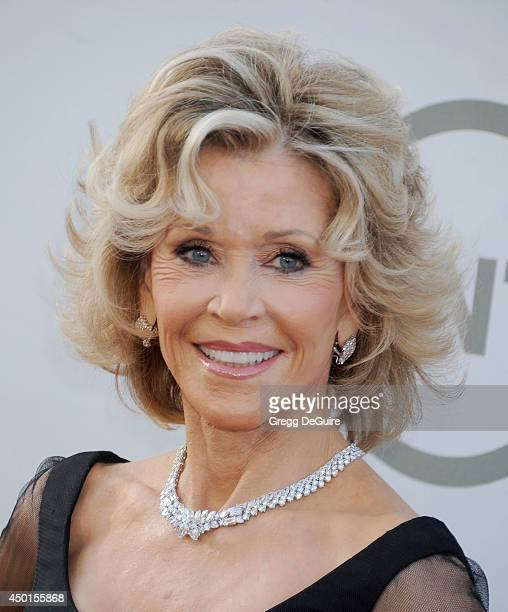 Actress Jane Fonda arrives at the 2014 AFI Life Achievement Award Gala Tribute at Dolby Theatre on June 5 2014 in Hollywood California