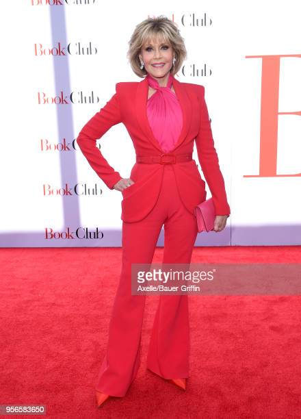 Actress Jane Fonda arrives at the premiere of Paramount Pictures' 'Book Club' at Regency Village Theatre on May 6 2018 in Westwood California