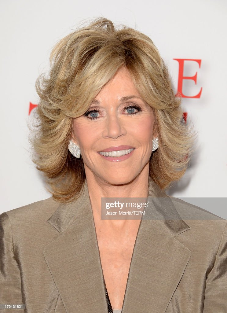 Actress Jane Fonda arrives at the premiere of The Weinstein Company's 'Lee Daniels' The Butler' at Regal Cinemas L.A. Live on August 12, 2013 in Los Angeles, California.