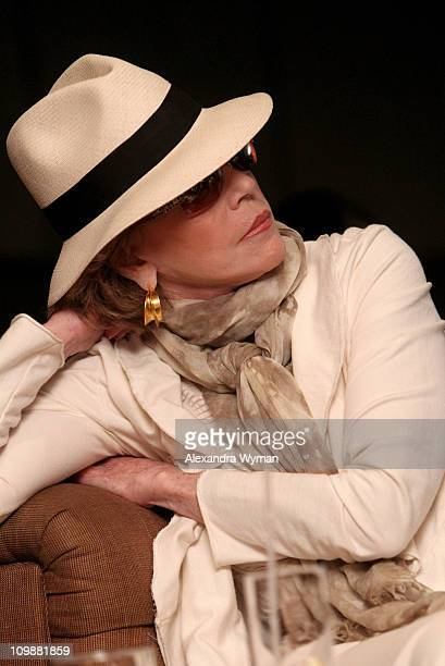 Actress Jane Fonda attends Eve Ensler and V-Day celebrate the opening of City of Joy in the DRC held at Soho House on International Women's Day March...