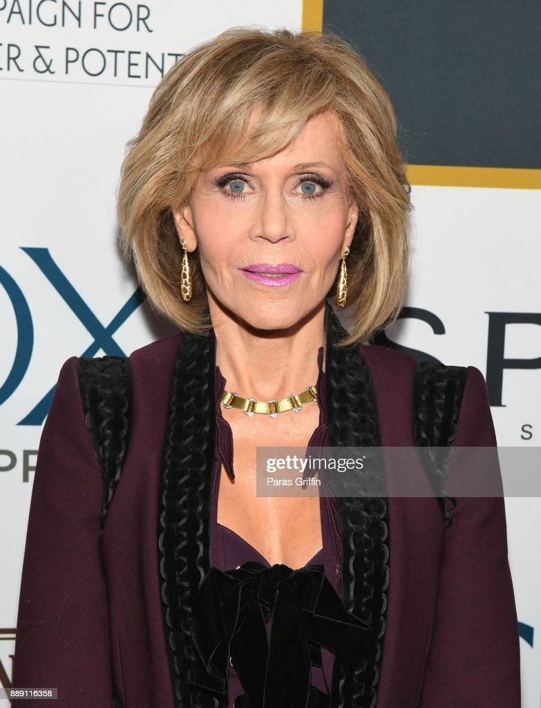 Actress Jane Fonda attends GCAPP 'Eight Decades of Jane' in celebration of Jane Fonda's 80th birthday at The Whitley on December 9, 2017 in Atlanta, Georgia.