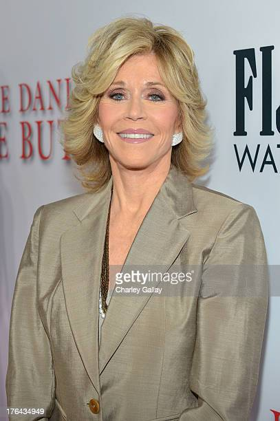 Actress Jane Fonda attends LEE DANIELS' THE BUTLER Los Angeles premiere hosted by TWC Budweiser and FIJI Water Purity Vodka and Stack Wines held at...