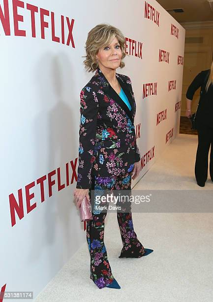 Actress Jane Fonda attends Netflix's Rebels and Rule Breakers Luncheon and Panel Celebrating The Women of Netflix at the Beverly Wilshire Four...