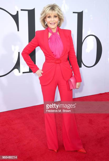 Actress Jane Fonda attends Paramount Pictures' Premiere of 'Book Club' at the Regency Village Theatre on May 6 2018 in Westwood California