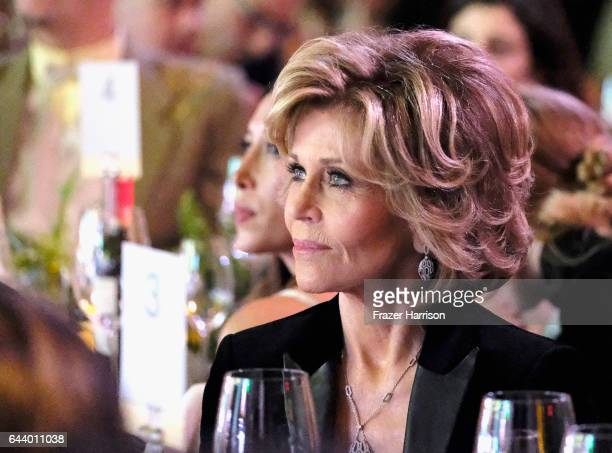 Actress Jane Fonda attends the 14th Annual Global Green Pre Oscar Party at TAO Hollywood on February 22 2017 in Los Angeles California