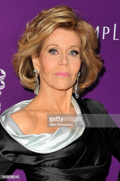 Actress Jane Fonda attends the 19th CDGA at The Beverly Hilton Hotel on February 21 2017 in Beverly Hills California