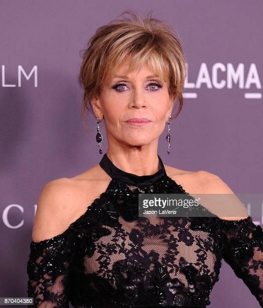 Actress Jane Fonda attends the 2017 LACMA Art Film gala at LACMA on November 4 2017 in Los Angeles California