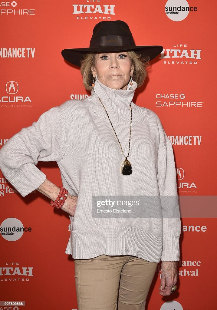 "2018 Sundance Film Festival - ""Jane Fonda In Five Acts"" Premiere"