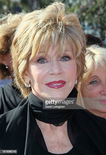 Actress Jane Fonda attends the kickoff for One Billion Rising in West Hollywood on February 14 2013 in West Hollywood California