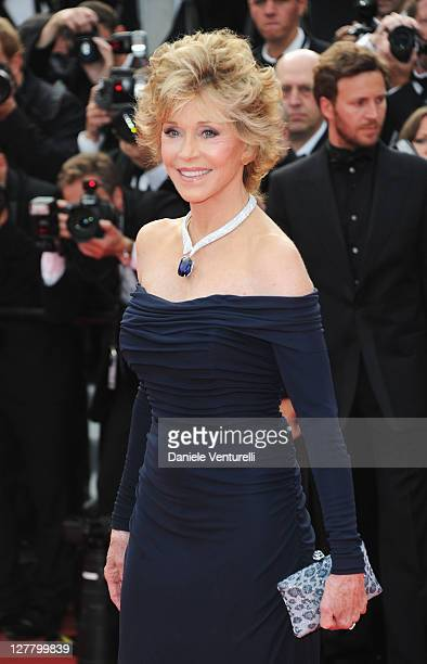 Actress Jane Fonda attends the 'Pirates of the Caribbean On Stranger Tides' Premiere during the 64th Annual Cannes Film Festival at Palais des...