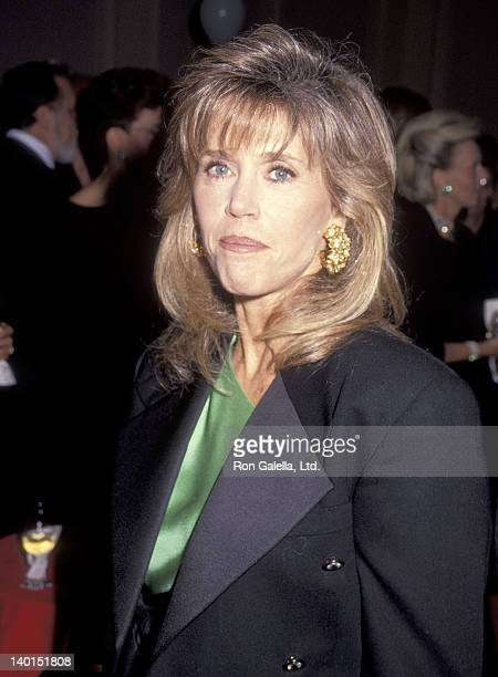 "Actress Jane Fonda attends the Planned Parenthood's ""Freedom of Choice, Freedom of Speech"" Award Salute to Candice Bergen, Susie Russell Thompkins..."