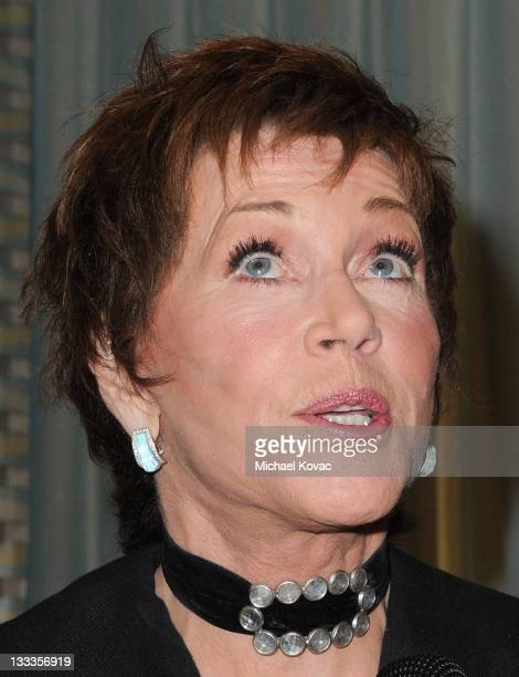 Actress Jane Fonda attends the Pre-Oscar Poolside Party benefiting The Red Cross Haiti & Chile Relief Fund at the Beverly Wilshire - Four Seasons...