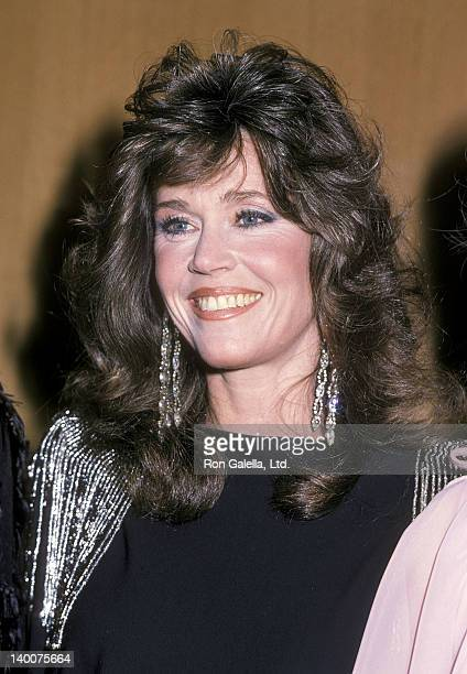 """Actress Jane Fonda attends """"The Stars Salute the U.S. Olympic Team"""" Television Special to Help Raise Funds for the U.S. Olympic Committee and the..."""