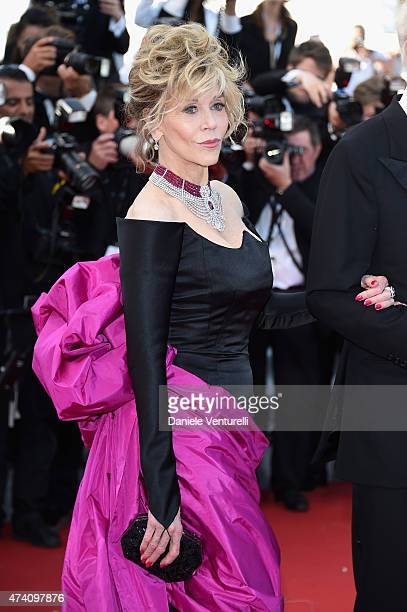 """Actress Jane Fonda attends the """"Youth"""" Premiere during the 68th annual Cannes Film Festival on May 20, 2015 in Cannes, France."""