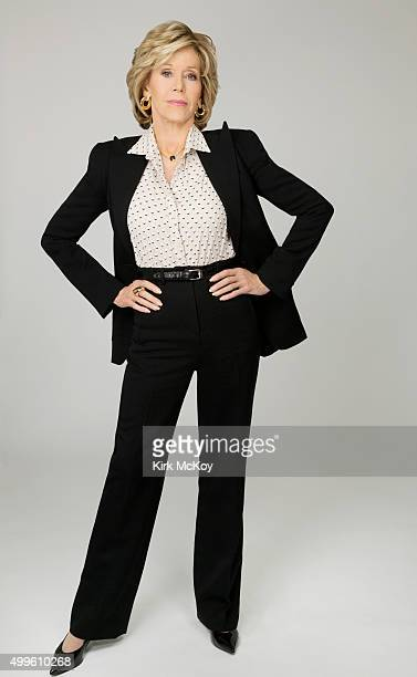 Actress Jane Fonda is photographed for Los Angeles Times on November 13 2015 in Los Angeles California PUBLISHED IMAGE CREDIT MUST READ Kirk...