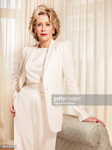 Actress Jane Fonda is photographed for Vanity Fair Italy on May 15 2014 in Cannes France
