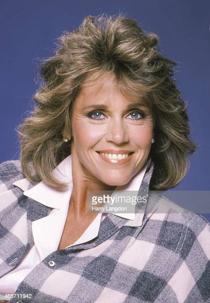 Actress Jane Fonda poses for a portrait in 1983 in Los Angeles California