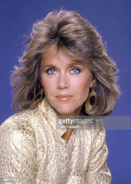 Actress Jane Fonda poses for a portrait in 1984 in Los Angeles California