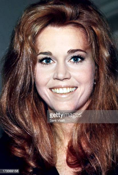 Actress Jane Fonda posing for a portrait on May 51967 in New York New York