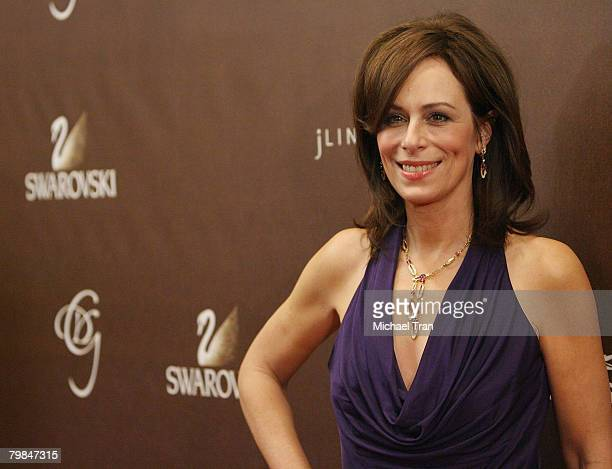 Actress Jane Kaczmarek arrives at the 10th Annual Costume Designers Guild Awards held at the Beverly Wilshire hotel on February 19 2008 in Beverly...