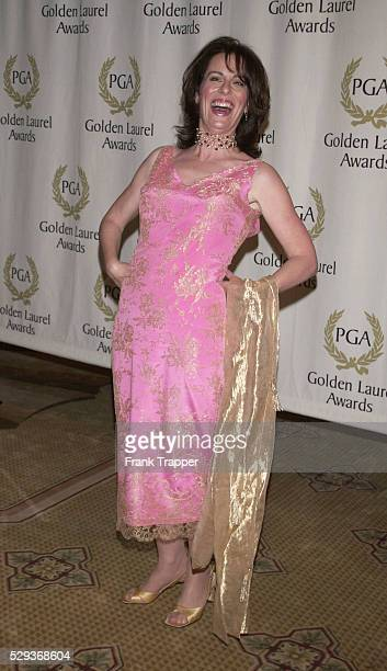 Actress Jane Kaczmarek arrives at the Producers Guild of America's 12th Annual Golden Laurel Awards