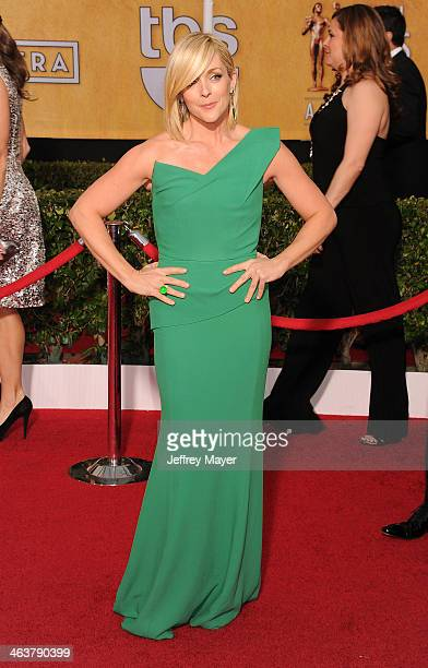 Actress Jane Krakowski arrives at the 20th Annual Screen Actors Guild Awards at The Shrine Auditorium on January 18 2014 in Los Angeles California