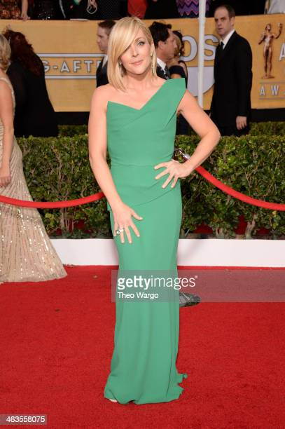 Actress Jane Krakowski attends 20th Annual Screen Actors Guild Awards at The Shrine Auditorium on January 18 2014 in Los Angeles California