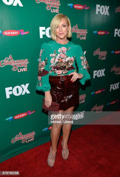 Actress Jane Krakowski attends FOX's 'A Christmas Story Live' Lighting Event featuring the leg lamp at The Grove on November 24 2017 in Los Angeles...