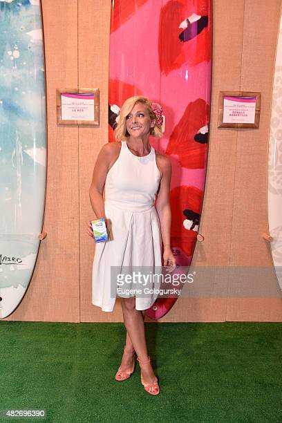 Actress Jane Krakowski attends Hamptons Paddle Party for Pink sponsored by New Centrum VitaMints on August 1 2015 in Bridgehampton New York