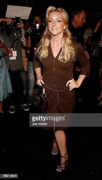 Actress Jane Krakowski attends Michael Kors spring 2008 fashion show during Mercedes-Benz Fashion Week Spring 2008 on Sep 9 2007 in New York City