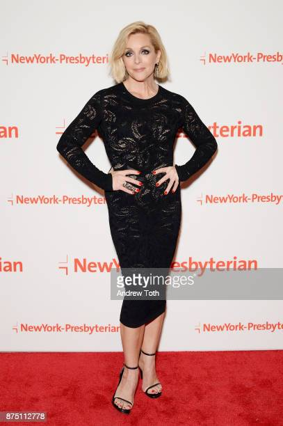 Actress Jane Krakowski attends NewYork-Presbyterian Hospital's Amazing Kids, Amazing Care dinner at Cipriani 25 Broadway on November 16, 2017 in New...