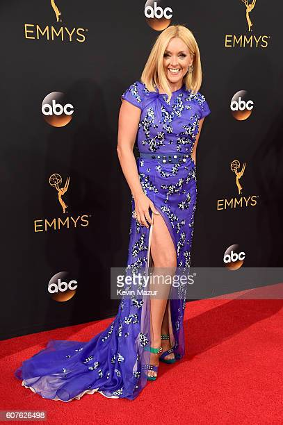 Actress Jane Krakowski attends the 68th Annual Primetime Emmy Awards at Microsoft Theater on September 18 2016 in Los Angeles California