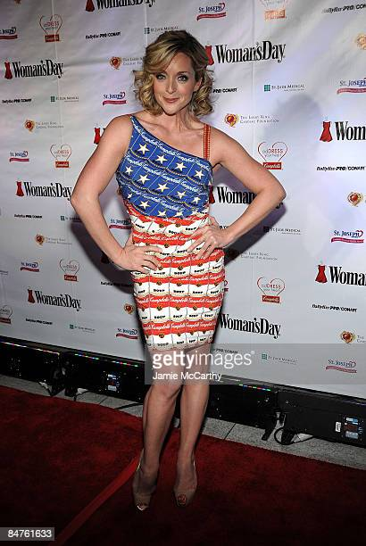 Actress Jane Krakowski attends the 6th Annual Woman's Day Red Dress Awards at the Allen Room in Frederick P. Rose Hall, Jazz at Lincoln Center on...