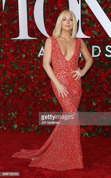 Actress Jane Krakowski attends the 70th Annual Tony Awards at Beacon Theatre on June 12 2016 in New York City