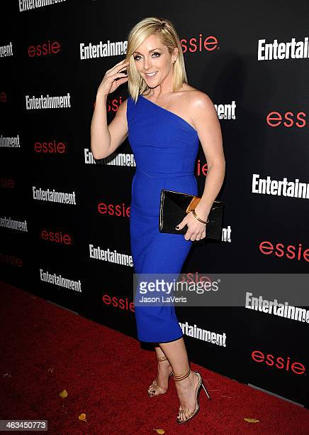 Actress Jane Krakowski attends the Entertainment Weekly SAG Awards preparty at Chateau Marmont on January 17 2014 in Los Angeles California