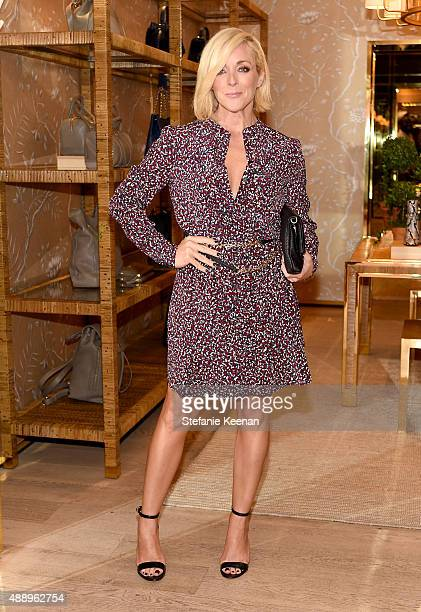 Actress Jane Krakowski attends the Glamour Women To Watch Lunch hosted by Cindi Leive at the Tory Burch Boutique Beverly Hills on September 18 2015...