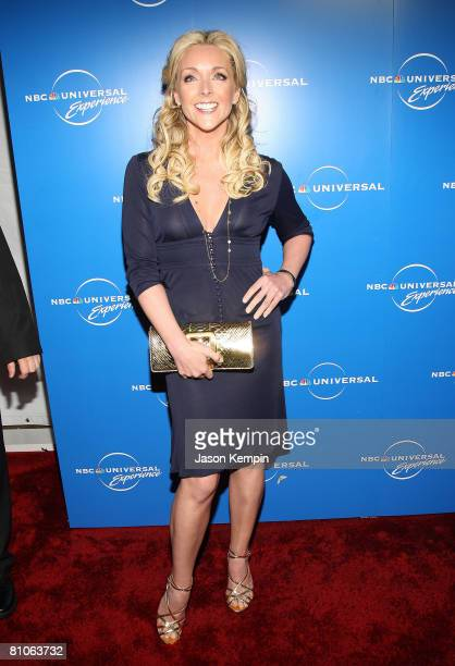 Actress Jane Krakowski attends the NBC Universal Experience at Rockefeller Center on May 12 2008 in New York City