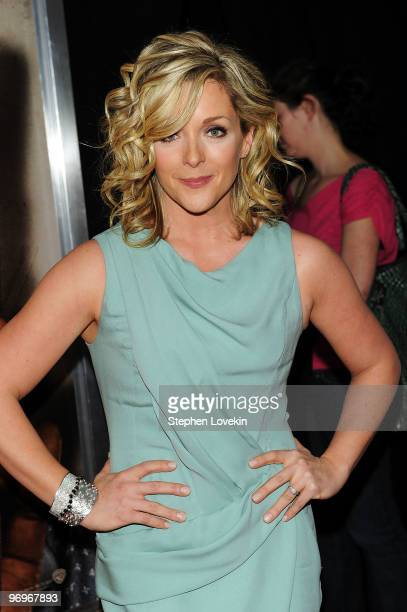 Actress Jane Krakowski attends the premiere of Cop Out at AMC Loews Lincoln Square 13 on February 22 2010 in New York City