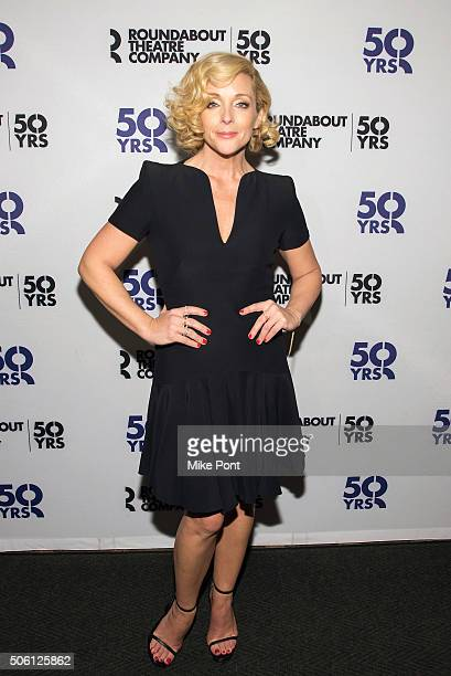 Actress Jane Krakowski attends the 'She Loves Me' Press Preview at 54 Below on January 21 2016 in New York City