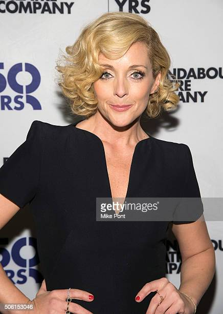 Actress Jane Krakowski attends the She Loves Me press preview at 54 Below on January 21 2016 in New York City
