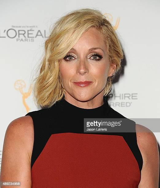 Actress Jane Krakowski attends the Television Academy's celebration for the 67th Emmy Award nominees for outstanding performances at Pacific Design...