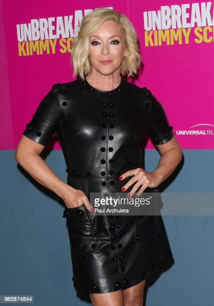 Actress Jane Krakowski attends Universal Television's FYC of the Unbreakable Kimmy Schmidt at UCB Sunset Theater on June 1 2018 in Los Angeles...